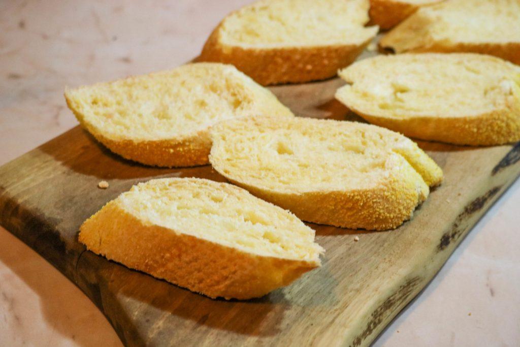 Slice baguette