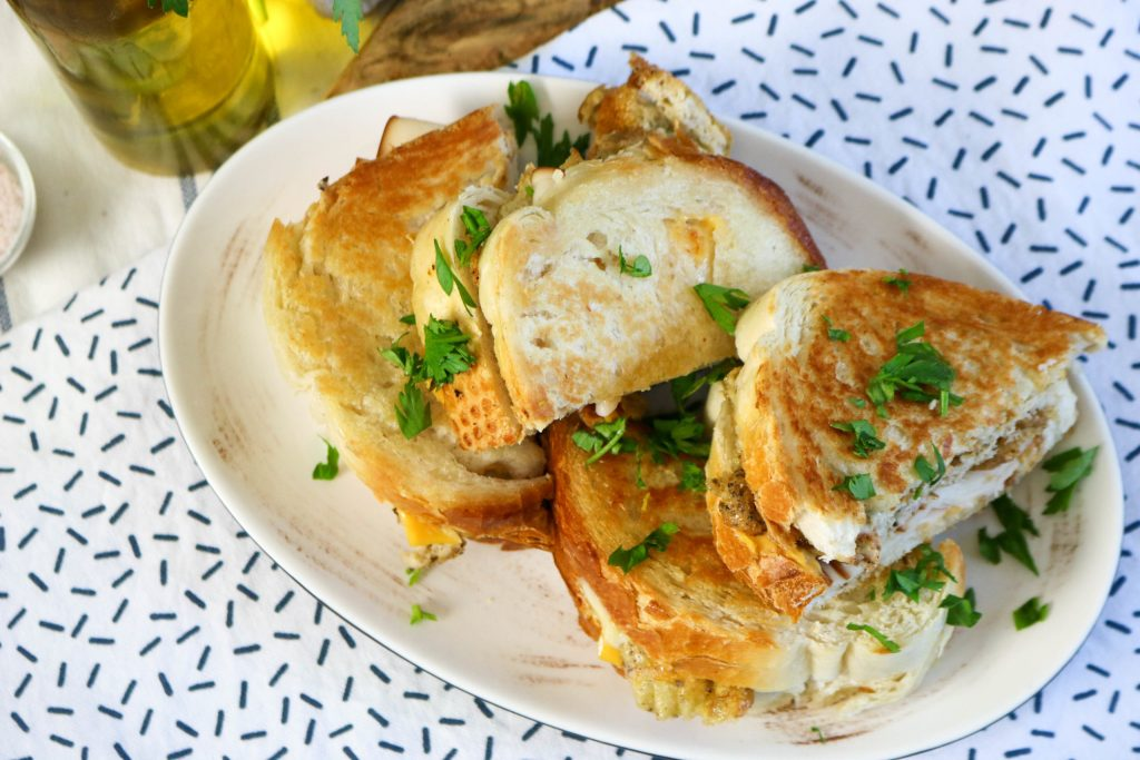 Cook Sandwich Till Golden Brown