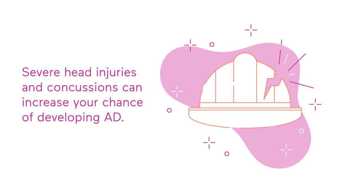 Head Injuries and Concussion Can Increase Chance of Developing AD