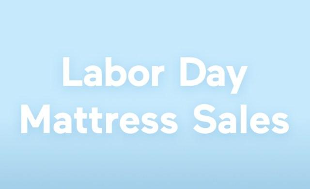 labor day mattress sale
