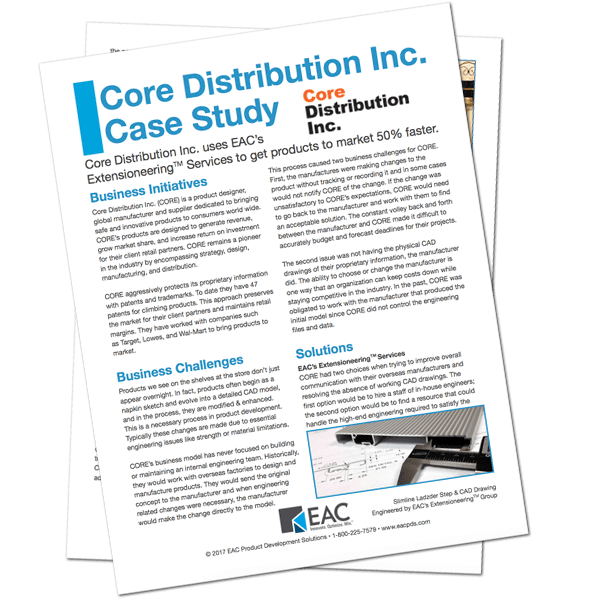 Core Distribution Inc. Case Study | EAC Product Development Solutions