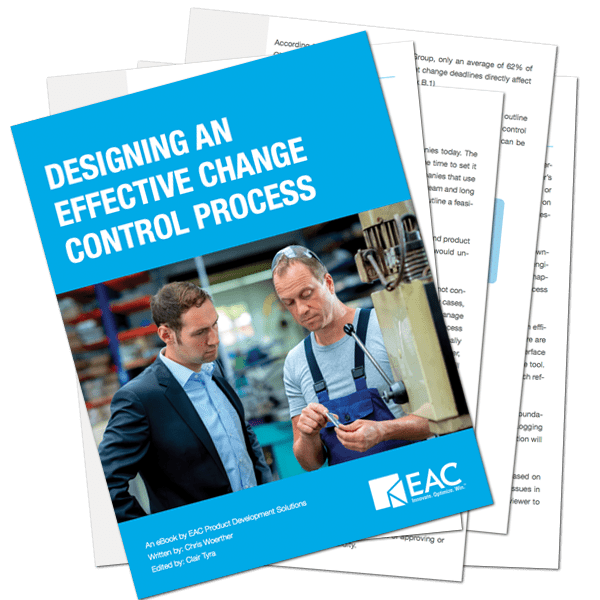 Designing an Effective Change Control Process   EAC Product Development Solutions