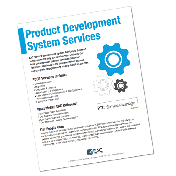 Product Development System Services   EAC Product Development Solutions