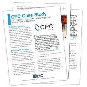 CPC Form 2 Case Study | EAC Product Development Solutions