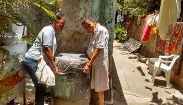 capas protetoras projeto de mobilização socioeducativa contra a dengue fiocruz bahia