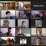 Screenshot of Zoom video call with many participants from across Princeton University.