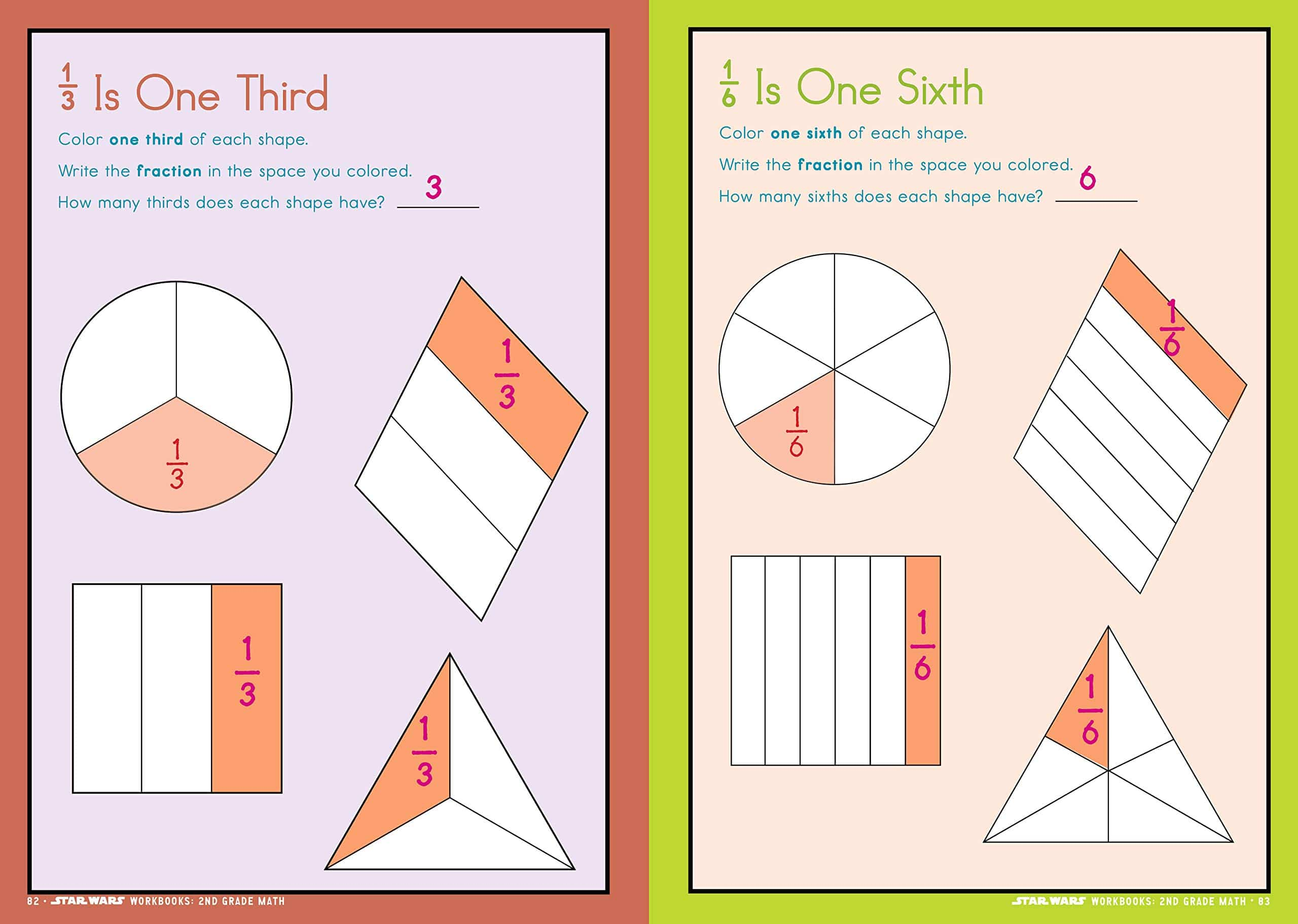 Star Wars Workbook 1st Grade Math