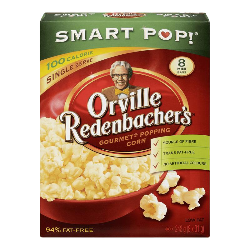 orville redenbacher s smart pop microwavable popcorn 100 calorie mini bags