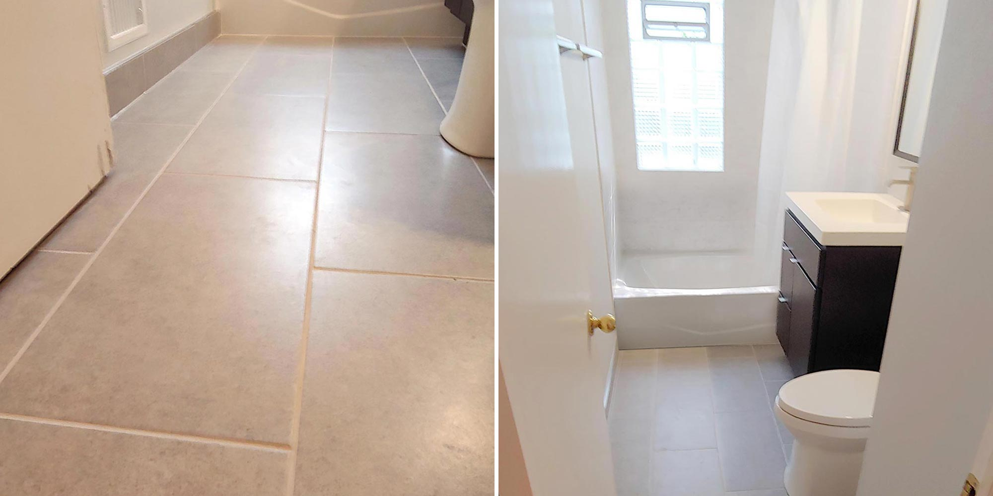 tub surround and tile repair and
