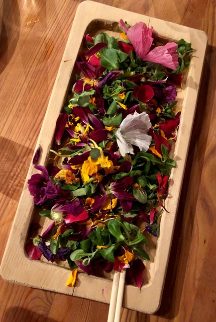 Edible Flowers, Pretty and Tasty
