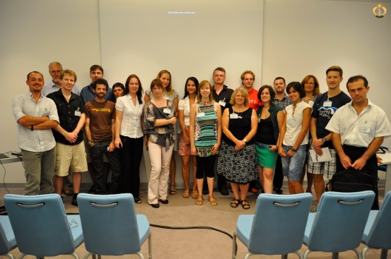 The participants to the workshop on Myxozans at the 15th EAFP Conference, Split, Croatia