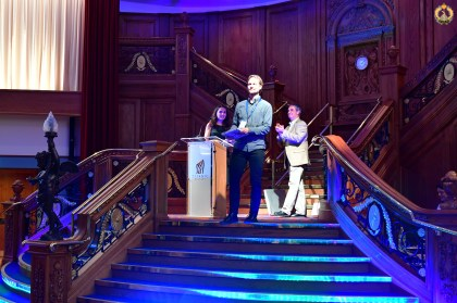 Jacob Schmidt awarded for the best poster at the 18th EAFP conference in Belfast