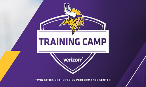 Everything You Need to Know for Verizon Vikings Training