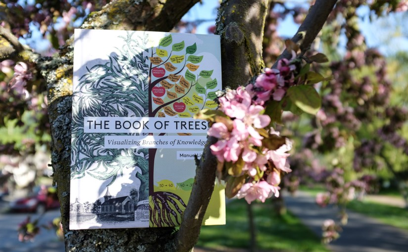 The Book of Trees, in a tree