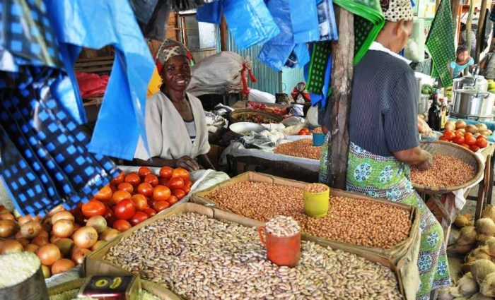 Inhambane: Markets and Naval Buildings