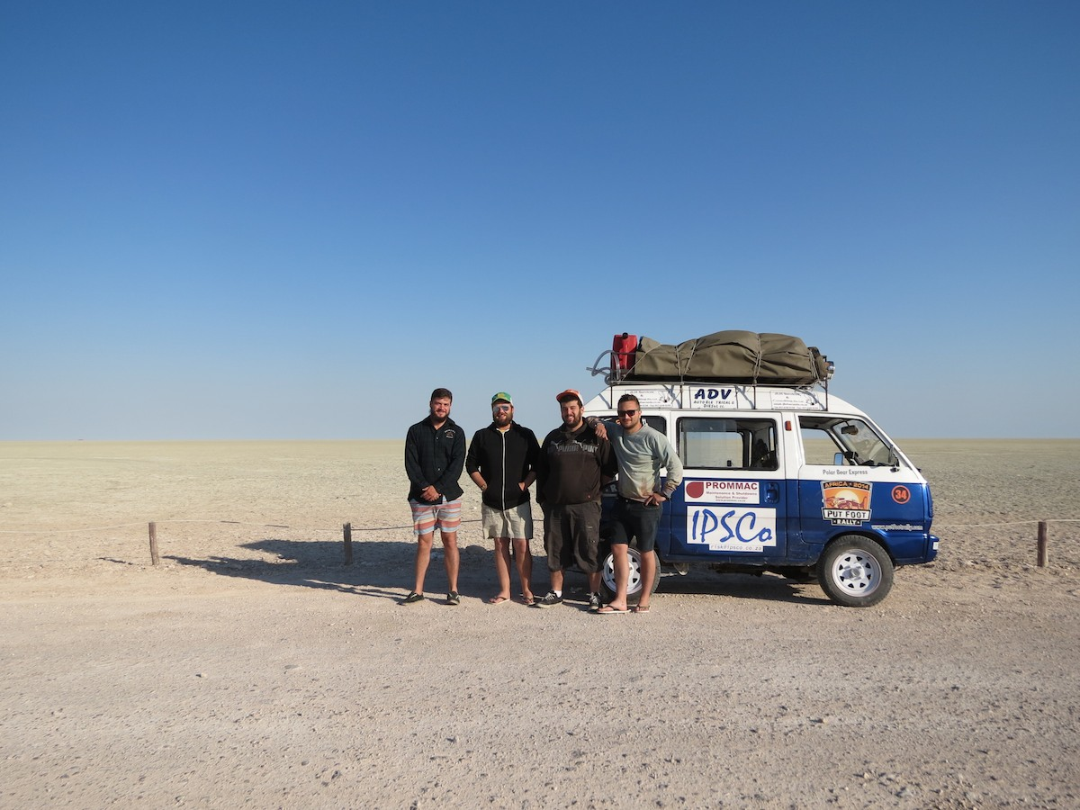 Put Foot Rally: 8 000kms, 18 days, NO limits