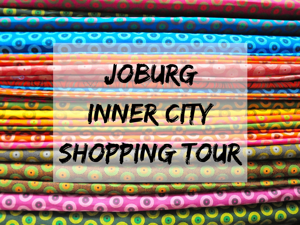 Joburg inner-city shopping tour with Past Experiences