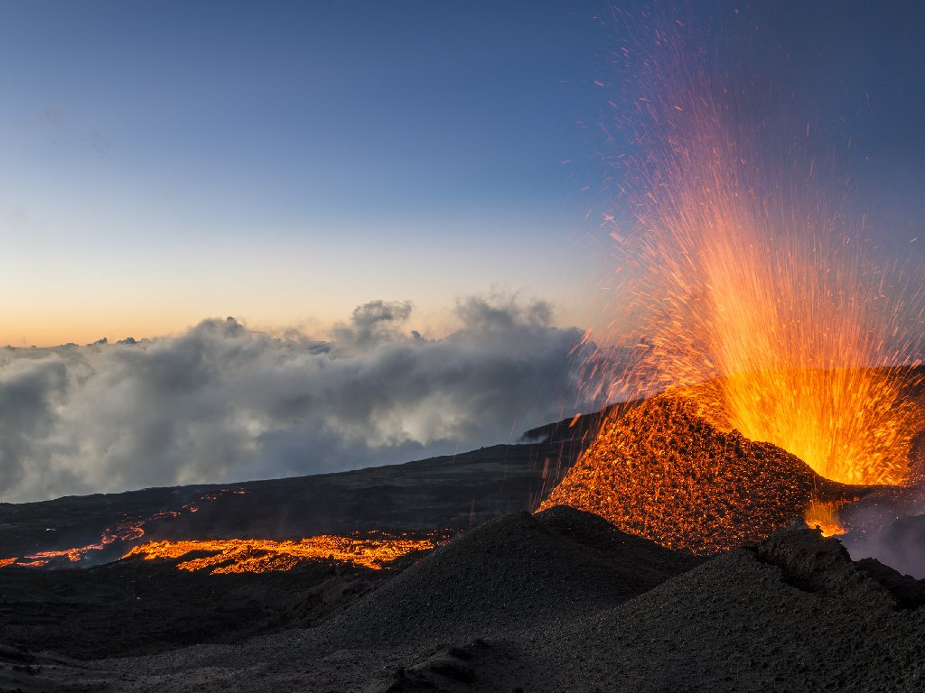 Volcano Tourism on Reunion Island