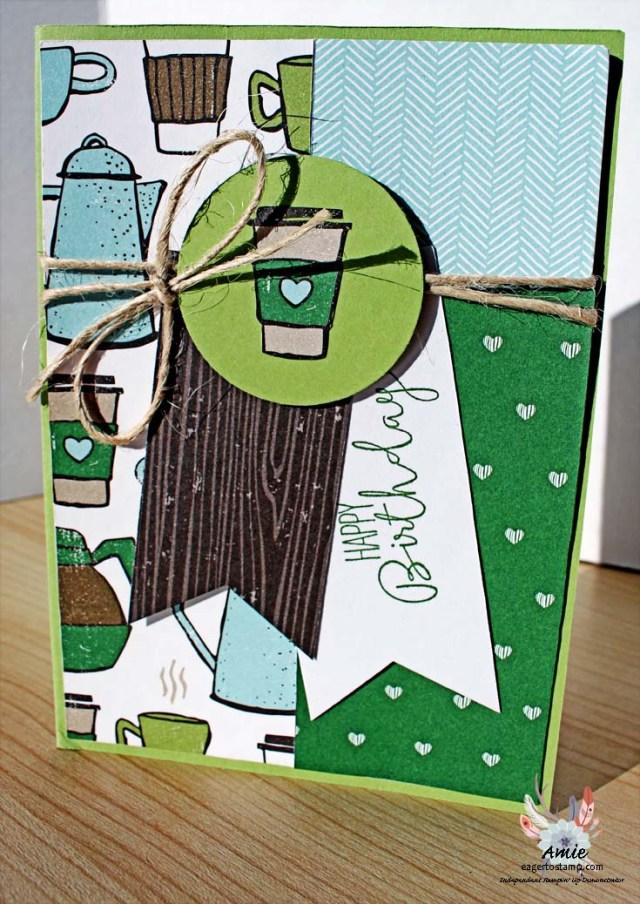 Coffee Break Layering Designer Series Paper