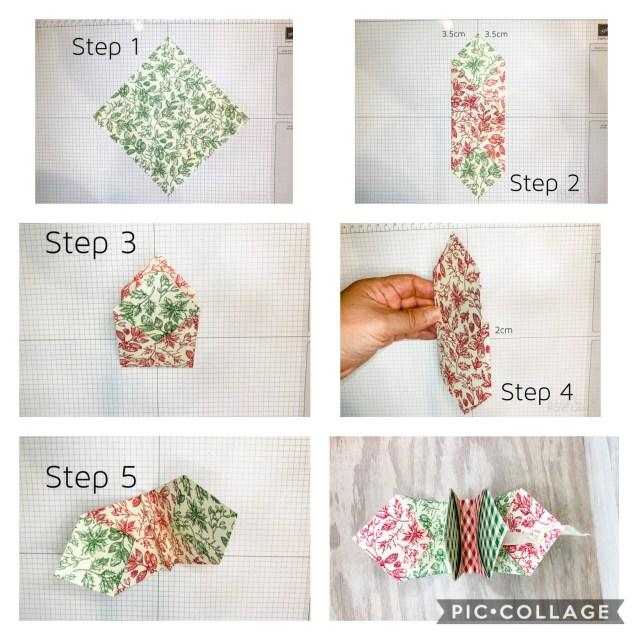 Visual pocket treat bag instructions