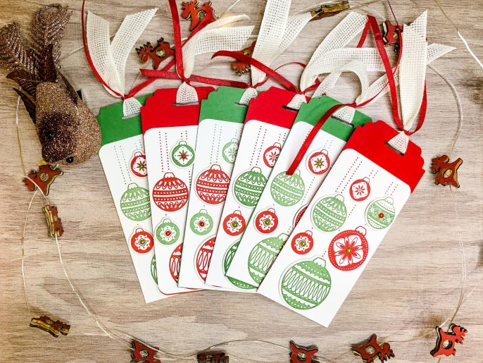 Gift Tags Using Ornamental Envelopes
