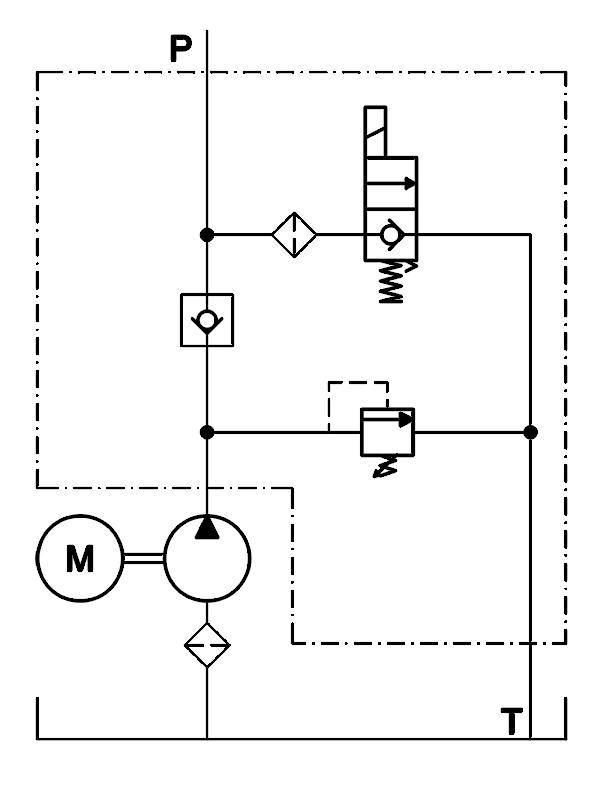 Power Unit Model 02 : Eagle Hydraulic