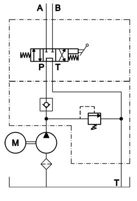 Power Unit Model 15 : Eagle Hydraulic