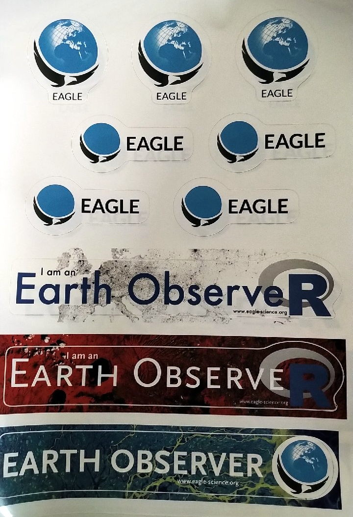 New EAGLE stickers arrived