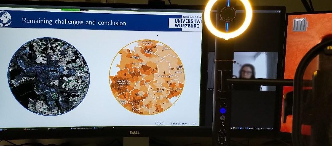Great Earth Observation presentations despite distance learning