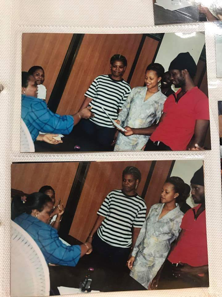 Bebe Cool married Zuena in 2003