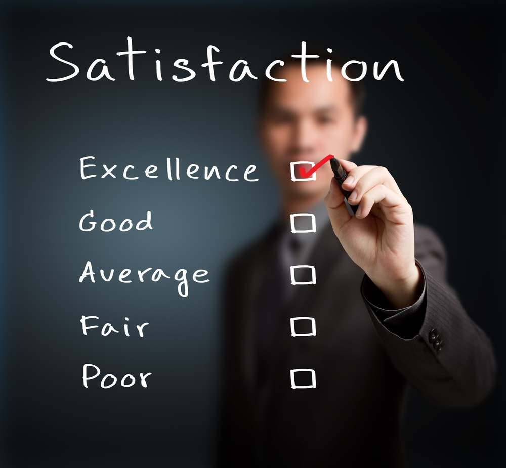 Here's how business management solutions improve customer satisfaction.