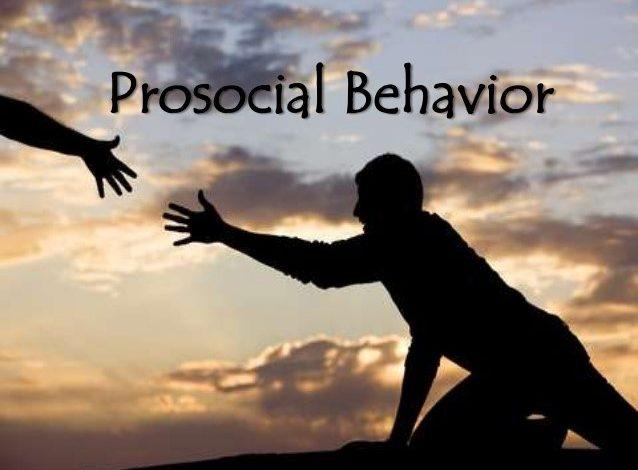 Prosocial Behavior