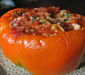 Mexican Stuffed Peppers With Vegetables