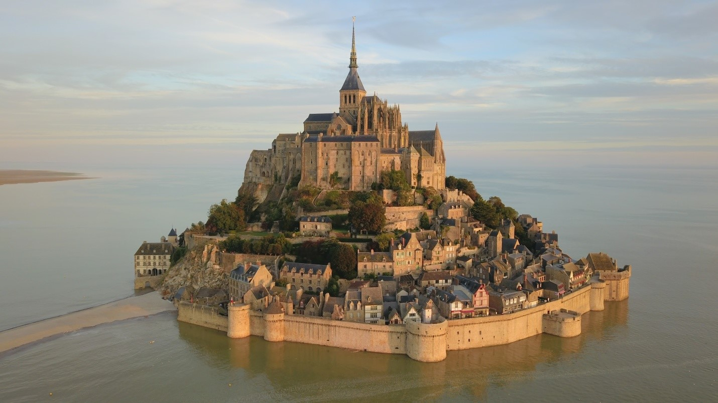 Mont Saint-Michel attractions in france