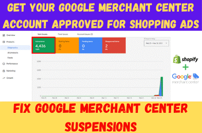 Fix Google Merchant Center Suspension Due To Misrepresentation Or Any Other Policy Violation