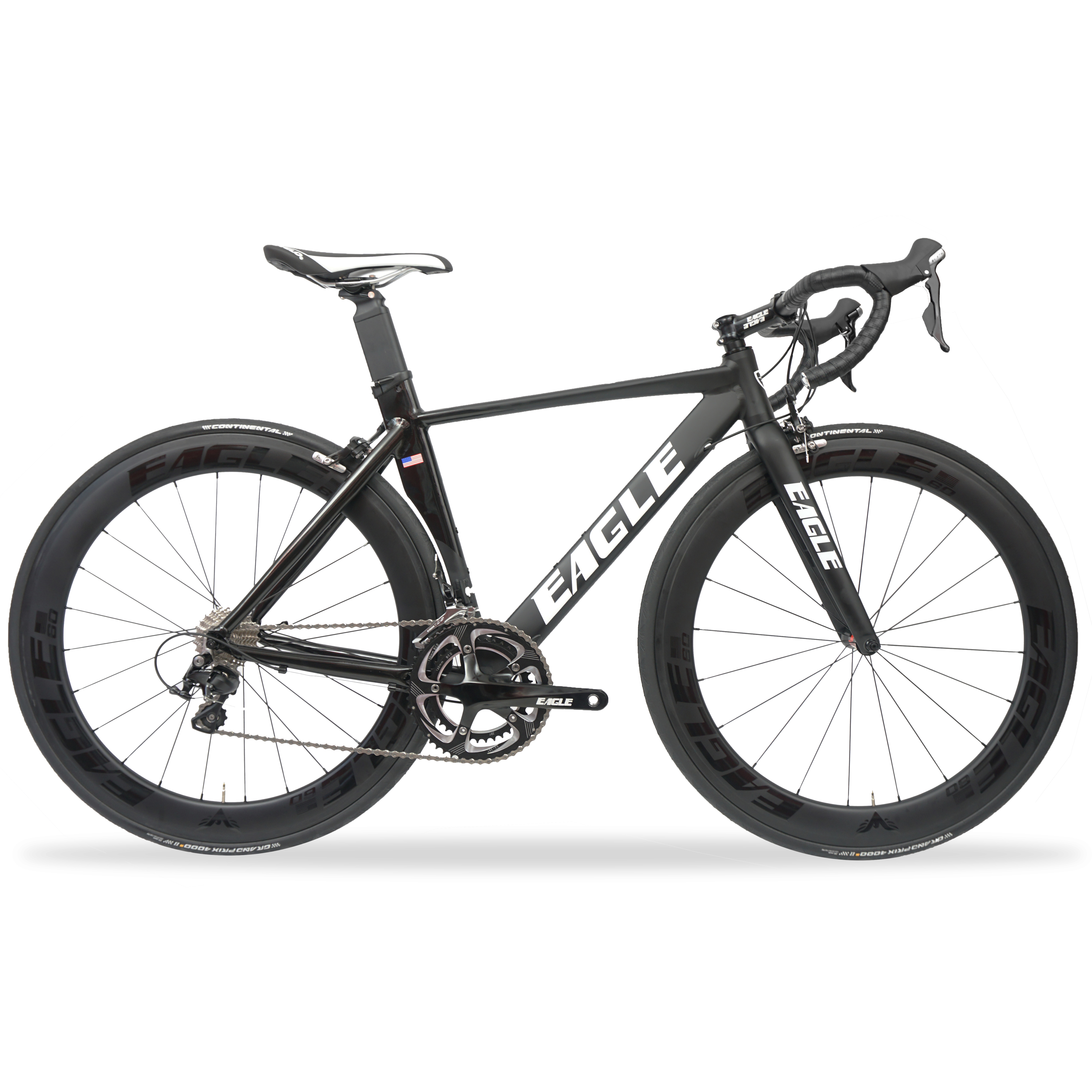 Eagle AZ1 Pro Alloy Aero Road Bike with Carbon Wheelset