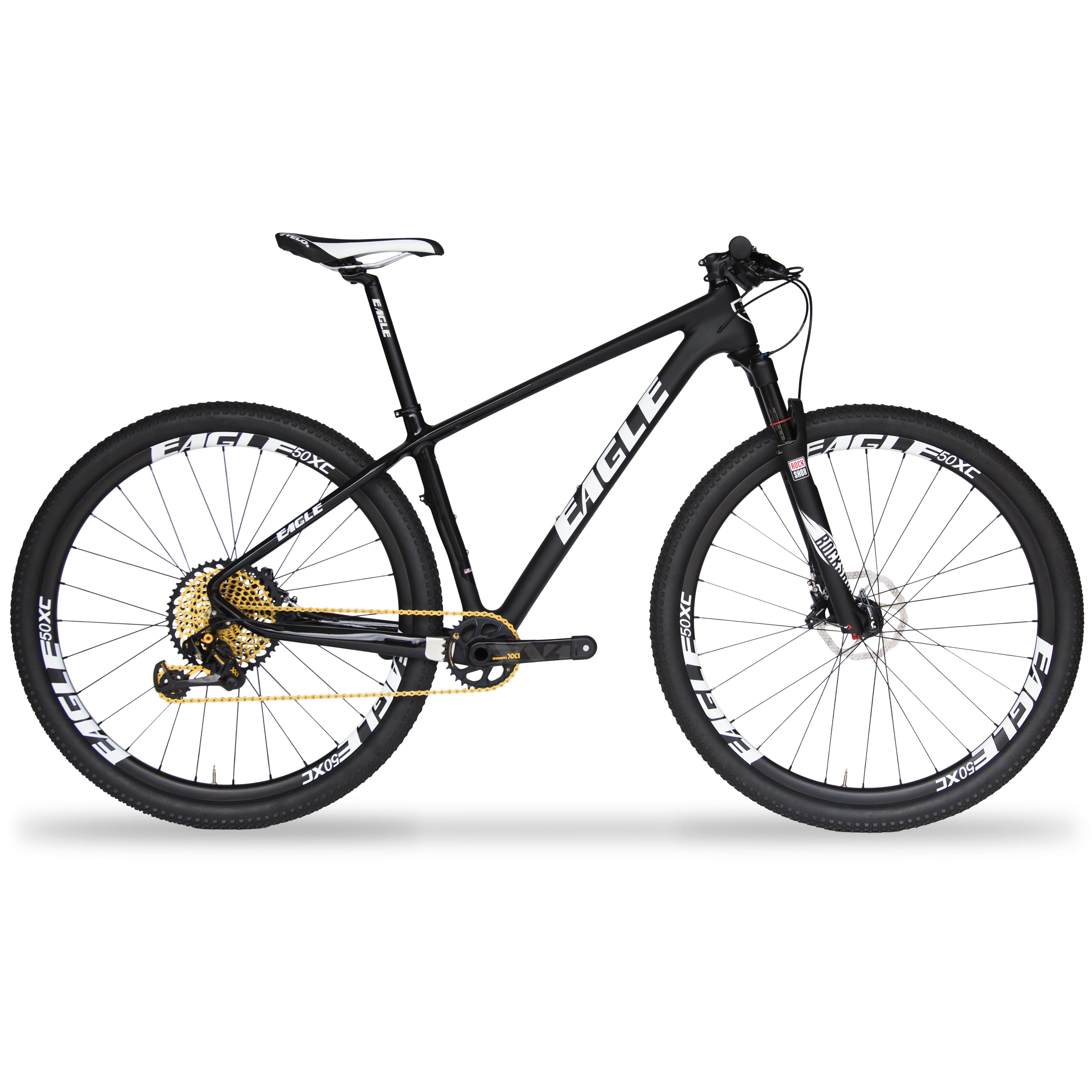 Eagle Patriot Gold Carbon Fiber Mountain Bike - SRAM XX1