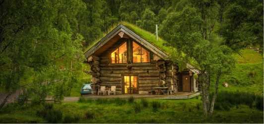 log cabins eagle brae building cabin