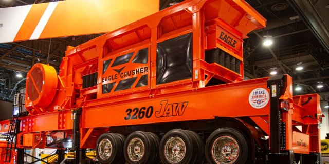 Everything You Need to Know About Eagle Crusher's New 3260 Jaw Crusher and Portable Plant