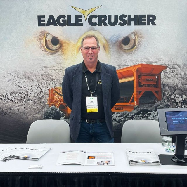 Eagle Crusher Exhibits at C&D World 2021