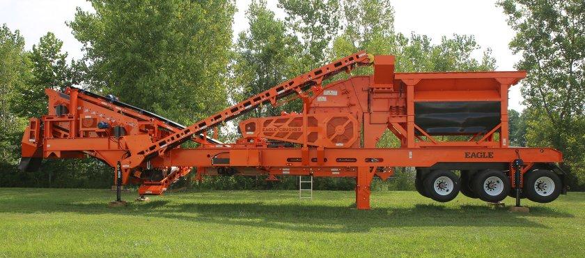 Eagle Crusher Co. Presenta la planta de trituración portátil de circuito cerrado de bajo costo