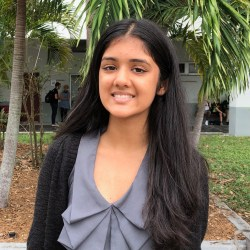 Junior Kosha Patel has taken the initiative to create and publicize her own charity.