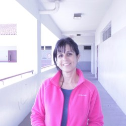 Psychology teacher shares her story from Feb. 14. Photo by Einav Cohen