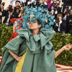 "Frances McDormand attends the ""Heavenly Bodies: Fashion and the Catholic Imagination"" Costume Institute Gala 2018 on Monday, May 7, 2018 at the Metropolitan Museum of Art in New York, N.Y. (Laura Thompson/New York Daily News/TNS)"