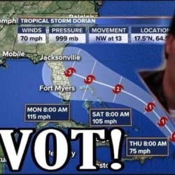 Internet produces Hurricane Dorian memes
