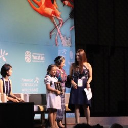 Camp Shine recognized at the Nobel Peace Summit