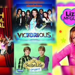 "Movies and shows like ""High School Musical,"" ""Victorious,"" ""Suite Life of Zack and Cody"" and ""Lizzie McGuire"" are a pivotal part of many teenagers' childhoods. Graphic by Darian Williams"