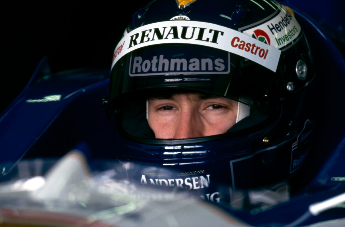 F1 Driver Of The Day Heinz Harald Frentzen Eagle