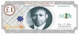 Niger Delta Avengers Unveils Own Currency Note, Dumps Biafra As Nigeria's Unity On The Verge.