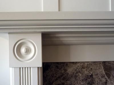 Fireplace mantel design